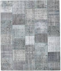 パッチワーク 絨毯 248X295 モダン 手織り 薄い灰色/水色 (ウール, トルコ)