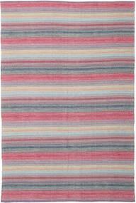 Wilma - ピンク 絨毯 220X320 モダン 手織り 薄紫色/ライトピンク (綿, インド)