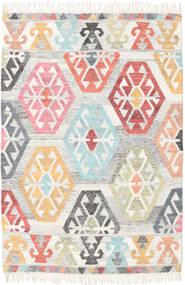 Mayor - Multi 絨毯 120X180 モダン 手織り 薄い灰色/ホワイト/クリーム色 (ウール, インド)
