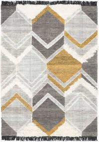 Silvana - ゴールド 絨毯 140X200 モダン 手織り 薄い灰色/ベージュ (ウール, インド)