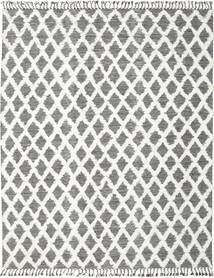 Inez - 濃い茶色/白 絨毯 250X350 モダン 手織り 薄い灰色/濃いグレー 大きな (ウール, インド)