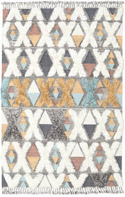 Xavier - Multi 絨毯 200X300 モダン 手織り 薄い灰色/ベージュ (ウール, インド)