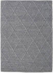 Svea - チャコール 絨毯 140X200 モダン 手織り 薄い灰色/濃いグレー (ウール, インド)