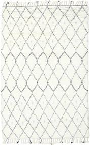 Sauda - ナチュラル グレー 絨毯 200X300 モダン 手織り ベージュ/ホワイト/クリーム色 (ウール, インド)