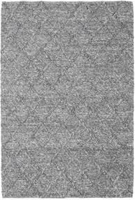 Rut - 濃いグレー Melange 絨毯 160X230 モダン 手織り 薄い灰色/濃い茶色 (ウール, インド)