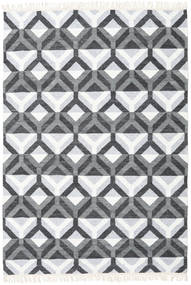 Aino 絨毯 160X230 モダン 手織り 水色/ホワイト/クリーム色 (ウール/バンブーシルク, インド)