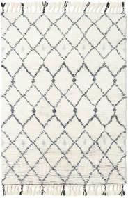 Sauda - ナチュラル グレー 絨毯 160X230 モダン 手織り ベージュ/ホワイト/クリーム色 (ウール, インド)