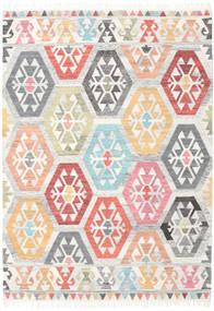 Mayor - Multi 絨毯 160X230 モダン 手織り 暗めのベージュ色の/ホワイト/クリーム色 (ウール, インド)