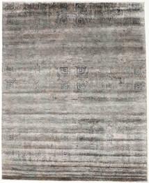 Damask インド 絨毯 247X304 モダン 手織り 薄い灰色/濃いグレー ( インド)