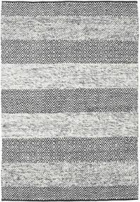 Folke - グレー 絨毯 140X200 モダン 手織り 薄い灰色/濃いグレー (ウール, インド)