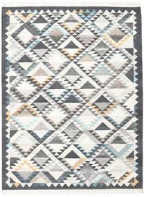 Texcoco 絨毯 210X290 モダン 手織り ベージュ/薄い灰色/濃いグレー (ウール, インド)