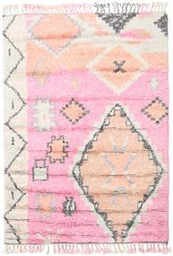 Odda - ピンク 絨毯 160X230 モダン 手織り ライトピンク/ホワイト/クリーム色 (ウール, インド)