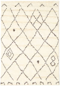 Almaaz - 白 絨毯 140X200 モダン 手織り ベージュ/ホワイト/クリーム色 (ウール, インド)