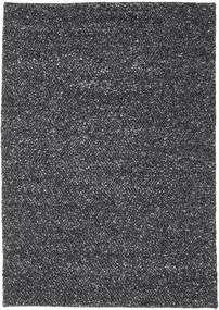 Bubbles - Melange 黒 絨毯 170X240 モダン 濃いグレー (ウール, インド)