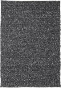 Bubbles - Melange 黒 絨毯 250X350 モダン 濃いグレー 大きな (ウール, インド)