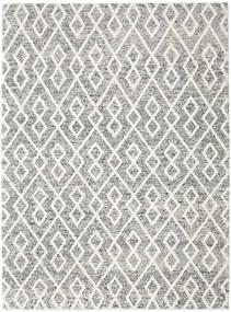 Hudson - Melange 黒 絨毯 250X350 モダン 薄い灰色/濃いグレー 大きな (ウール, インド)