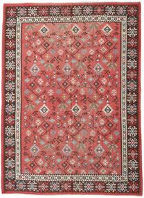 キリム ロシア産 絨毯 230X312 オリエンタル 手織り 錆色/深紅色の (ウール, アゼルバイジャン/ロシア)