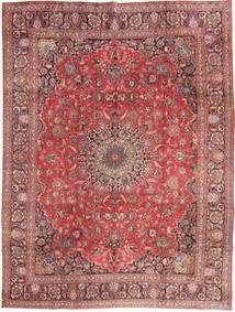 マシュハド 絨毯 285X375 オリエンタル 手織り 深紅色の/ライトピンク 大きな (ウール, ペルシャ/イラン)