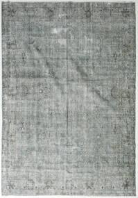 カラード ヴィンテージ 絨毯 213X302 モダン 手織り 薄い灰色/深緑色の (ウール, トルコ)