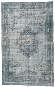 カラード ヴィンテージ 絨毯 192X314 モダン 手織り 薄い灰色/濃いグレー/青 (ウール, トルコ)