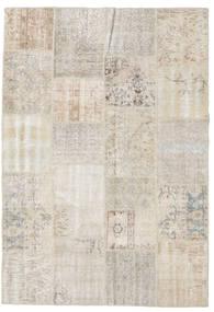 パッチワーク 絨毯 159X230 モダン 手織り 薄い灰色 (ウール, トルコ)