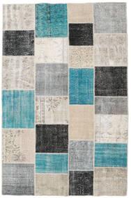 パッチワーク 絨毯 196X304 モダン 手織り 薄い灰色/濃いグレー (ウール, トルコ)