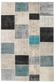 パッチワーク 絨毯 200X298 モダン 手織り 薄い灰色/濃いグレー (ウール, トルコ)