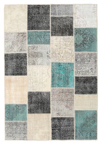 パッチワーク 絨毯 158X232 モダン 手織り 薄い灰色/ベージュ (ウール, トルコ)