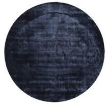 Brooklyn - ミッドナイトブルー色 絨毯 Ø 200 モダン ラウンド 紺色の/青 ( インド)