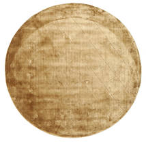 Brooklyn - ゴールド 絨毯 Ø 200 モダン ラウンド 薄茶色/暗めのベージュ色の ( インド)