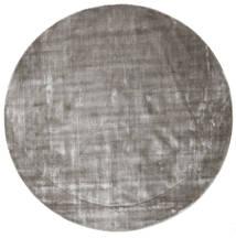 Broadway - ソフトグレー 絨毯 Ø 300 モダン ラウンド 薄い灰色/濃いグレー 大きな ( インド)
