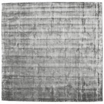 Broadway - ミスティグレー 絨毯 250X250 モダン 正方形 薄い灰色/濃いグレー 大きな ( インド)