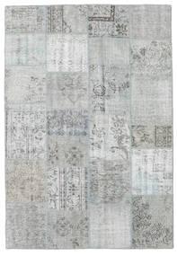パッチワーク 絨毯 160X232 モダン 手織り ターコイズブルー/薄い灰色 (ウール, トルコ)
