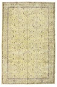 カラード ヴィンテージ 絨毯 184X280 モダン 手織り ベージュ/オリーブ色 (ウール, トルコ)