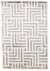 Maze 絨毯 170X240 モダン 手織り 薄い灰色/ベージュ ( インド)