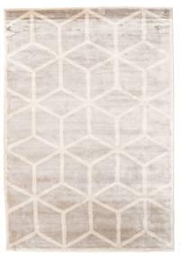 Facets 絨毯 170X240 モダン 手織り 薄い灰色/ホワイト/クリーム色 ( インド)