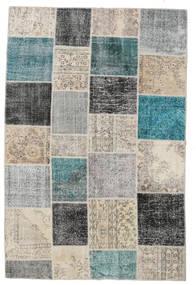 パッチワーク 絨毯 200X300 モダン 手織り 薄い灰色/ホワイト/クリーム色 (ウール, トルコ)