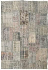 パッチワーク 絨毯 205X304 モダン 手織り 薄い灰色/濃いグレー (ウール, トルコ)