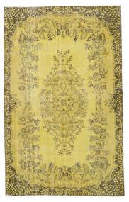 カラード ヴィンテージ 絨毯 172X274 モダン 手織り オリーブ色/暗めのベージュ色の (ウール, トルコ)