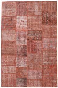 パッチワーク 絨毯 198X302 モダン 手織り 深紅色の/茶 (ウール, トルコ)