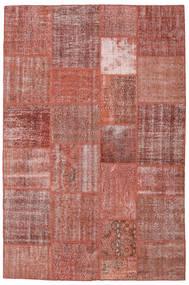 パッチワーク 絨毯 198X301 モダン 手織り 茶/深紅色の (ウール, トルコ)
