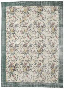 カラード ヴィンテージ 絨毯 224X307 モダン 手織り 薄い灰色/暗めのベージュ色の (ウール, トルコ)