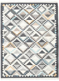 Texcoco 絨毯 160X230 モダン 手織り ベージュ/薄い灰色/濃いグレー (ウール, インド)