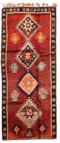 Herki ヴィンテージ 絨毯 166X403 オリエンタル 手織り 廊下 カーペット 深紅色の/錆色/濃い茶色 (ウール, トルコ)