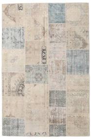 パッチワーク 絨毯 197X300 モダン 手織り 薄い灰色 (ウール, トルコ)
