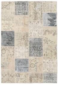 パッチワーク 絨毯 159X234 モダン 手織り 薄い灰色/暗めのベージュ色の (ウール, トルコ)