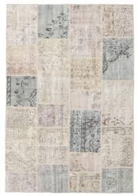 パッチワーク 絨毯 158X232 モダン 手織り 薄い灰色 (ウール, トルコ)