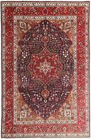 タブリーズ 絨毯 207X315 オリエンタル 手織り 深紅色の/濃い茶色 (ウール, ペルシャ/イラン)
