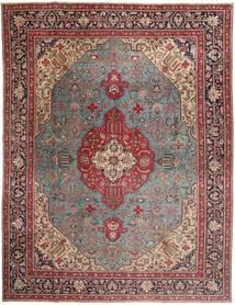 タブリーズ パティナ 絨毯 303X400 オリエンタル 手織り 深紅色の/茶 大きな (ウール, ペルシャ/イラン)