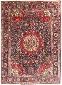 タブリーズ 絨毯 212X292 オリエンタル 手織り 深紅色の/濃い茶色 (ウール, ペルシャ/イラン)